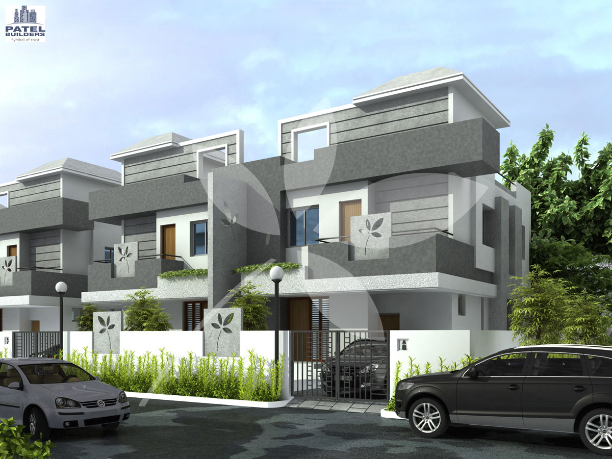 Download this Twin Bungalow Elevation picture
